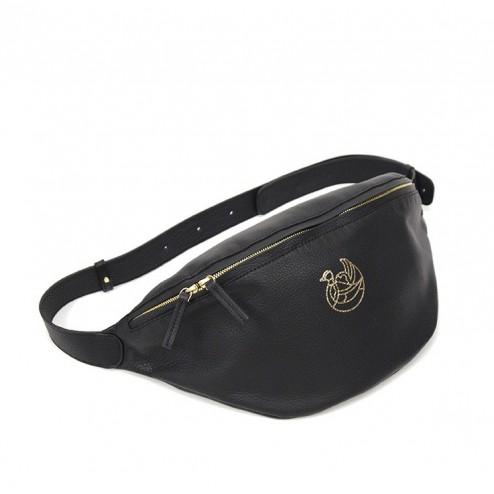 Pekin bag black gold